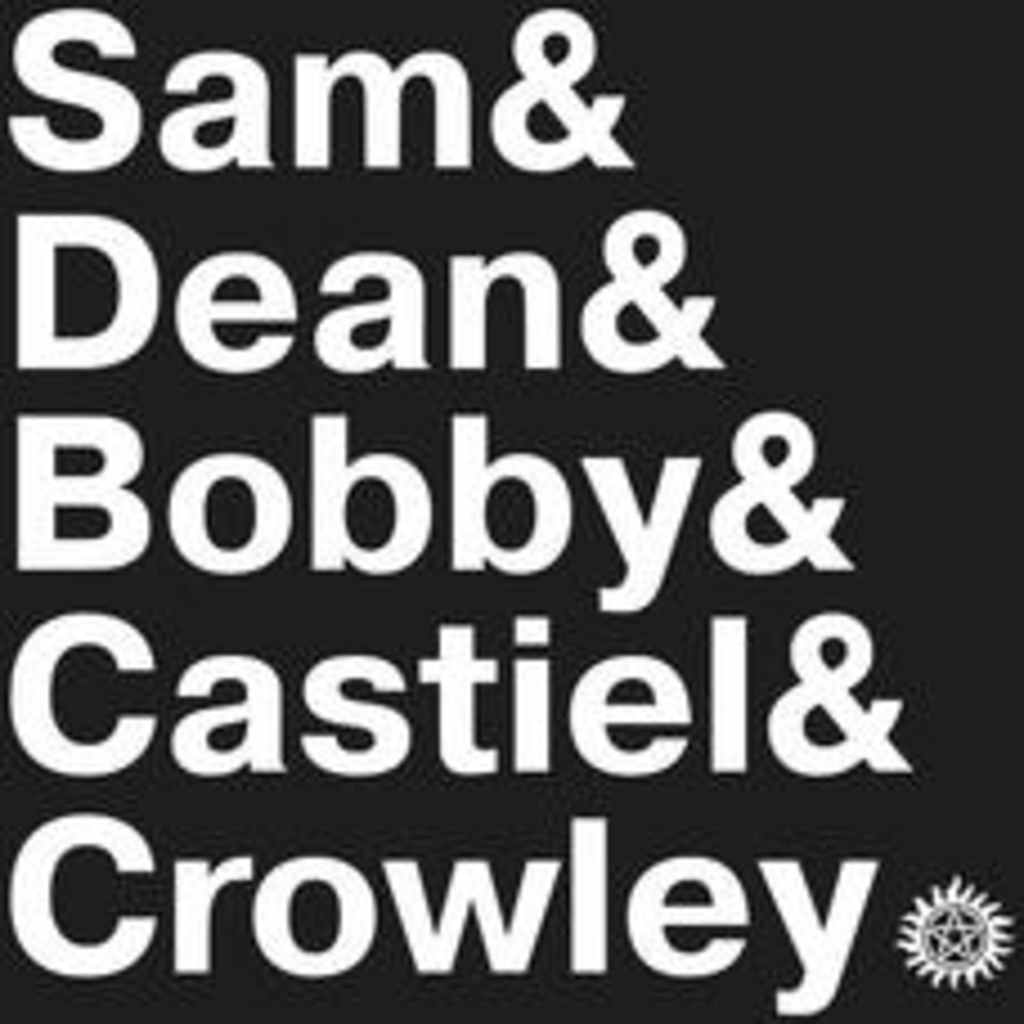 Textual Tees: Supernatural Names T-Shirt