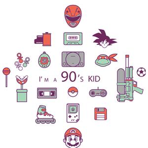 Qwertee: I'm a 90's kid