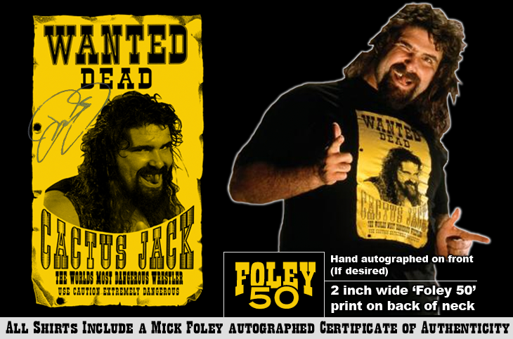 Top Rope Tuesday: Cactus Jack (with optional Mick Foley autograph)