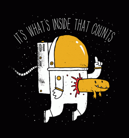 BustedTees: Space Sucks
