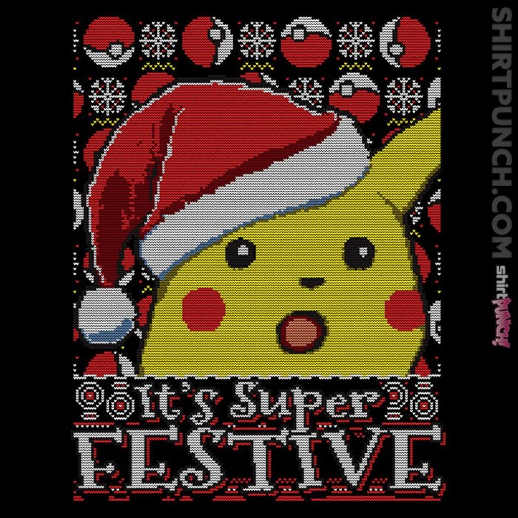 ShirtPunch: It's Super Festive