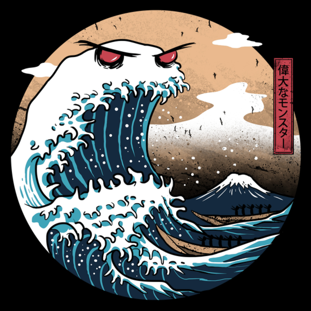 NeatoShop: The Great Monster of Kanagawa