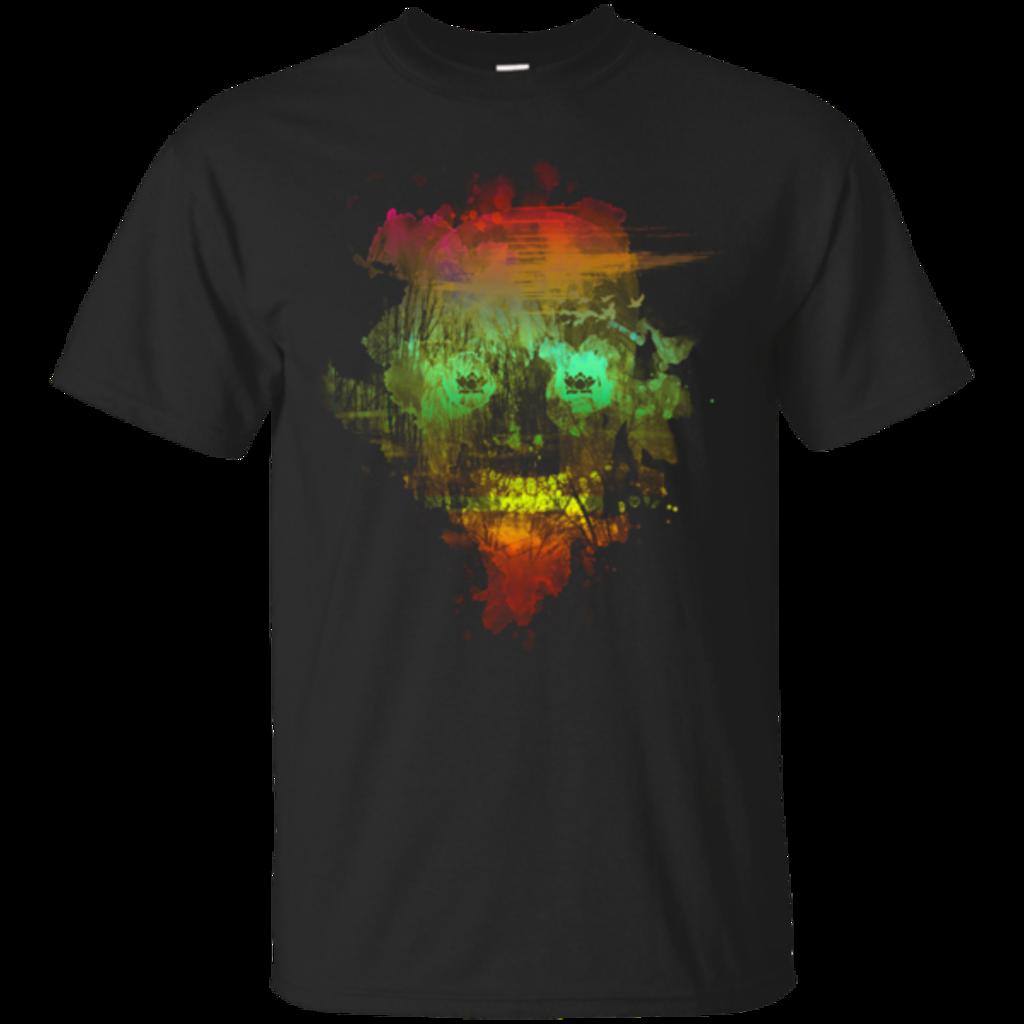 Pop-Up Tee: Neon Skully