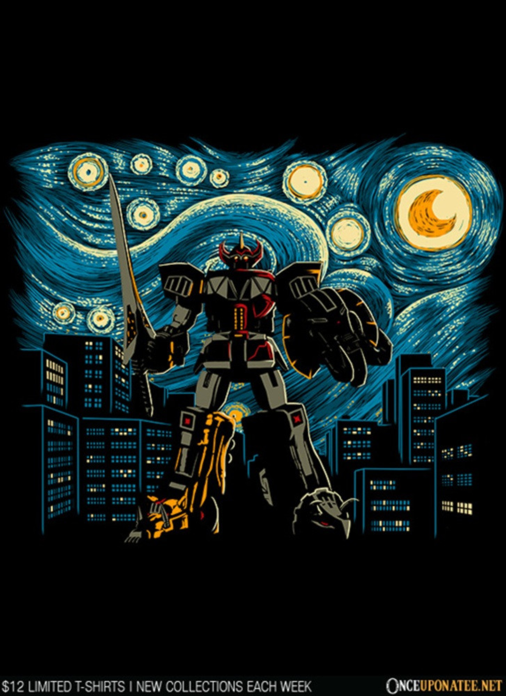 Once Upon a Tee: Starry Megazord