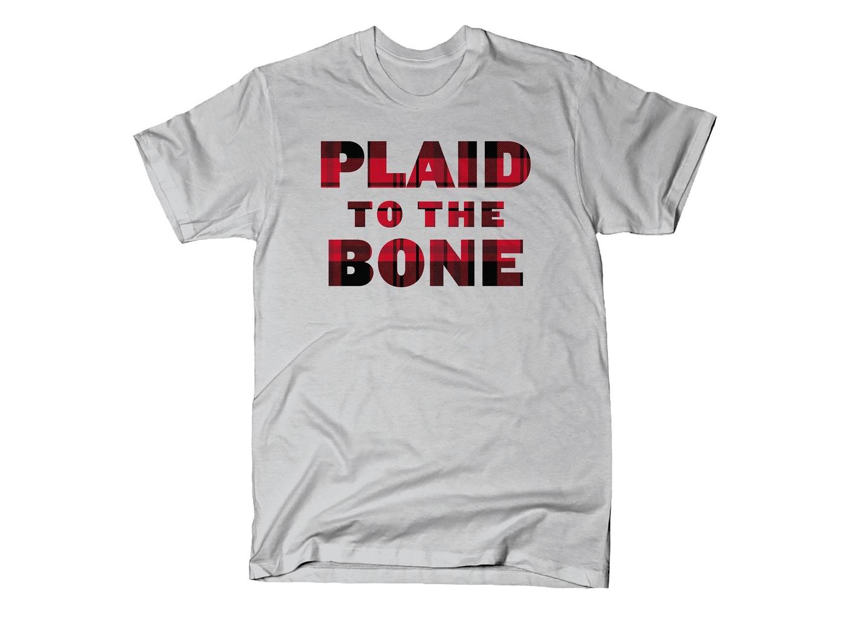 SnorgTees: Plaid To The Bone