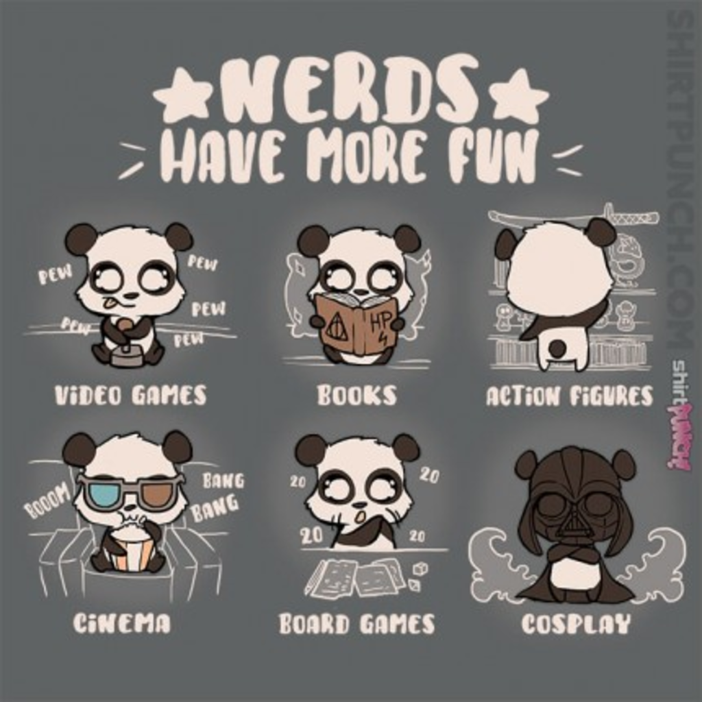 ShirtPunch: Nerds Have More Fun