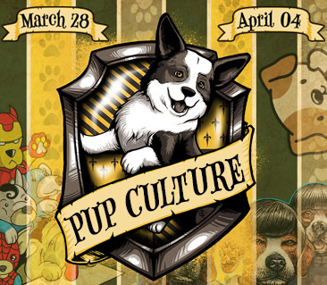 TeeFury: Pup-culture Collection