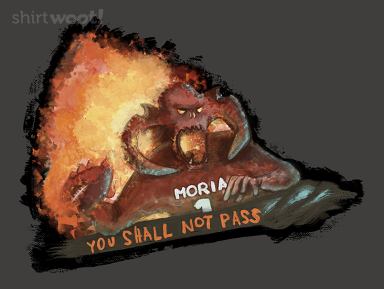 Woot!: Balrog Shall Not Pass