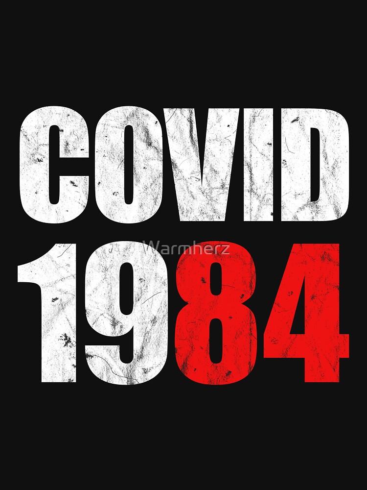 RedBubble: Covid 1984