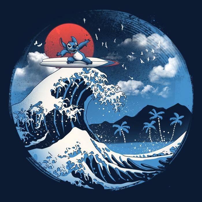 Once Upon a Tee: The Great Wave of Kaua'i