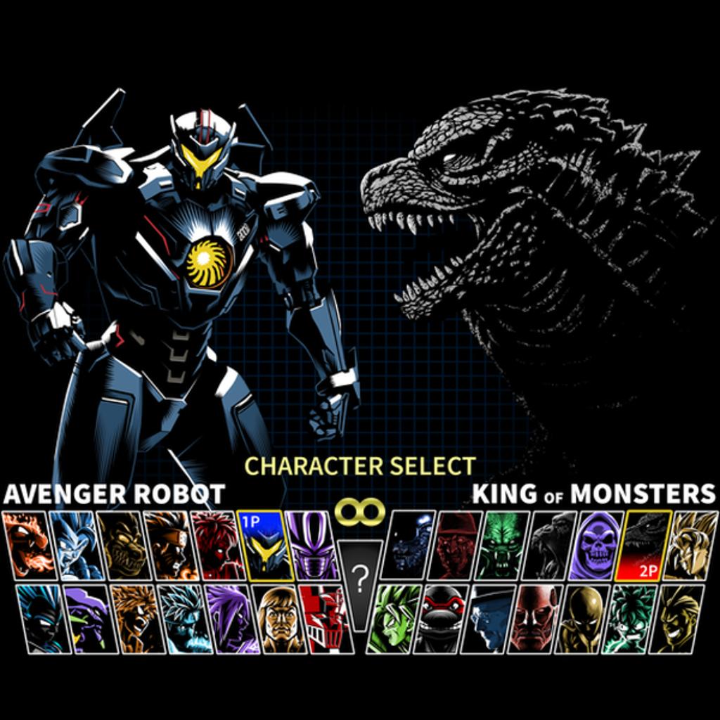 NeatoShop: Select Giant Robot vs King Monster