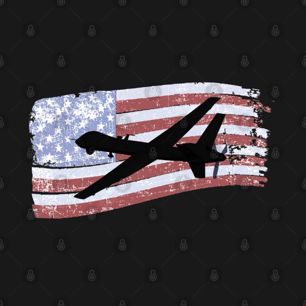 TeePublic: General Atomics MQ-9 Reaper Drone