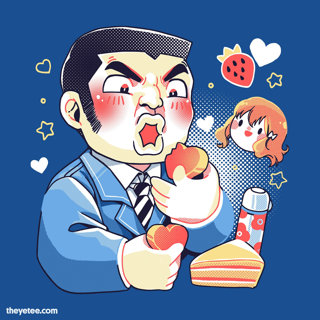 The Yetee: Valentines Eating