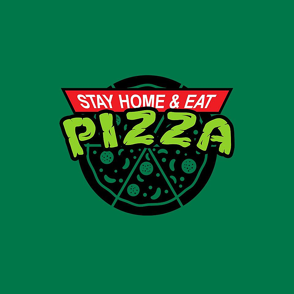 TeeFury: Stay Home and Eat Pizza