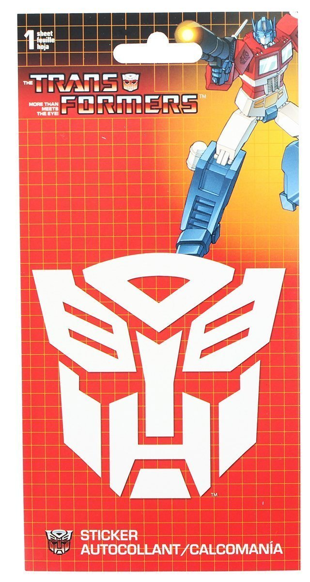 Pop Vulture: Transformers - Autobot Vinyl Decal Sticker