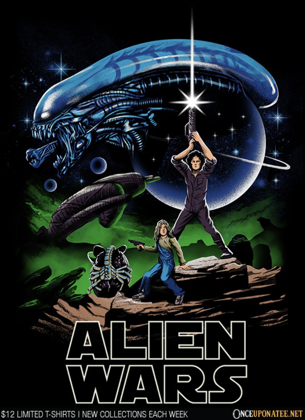 Once Upon a Tee: Alien Wars