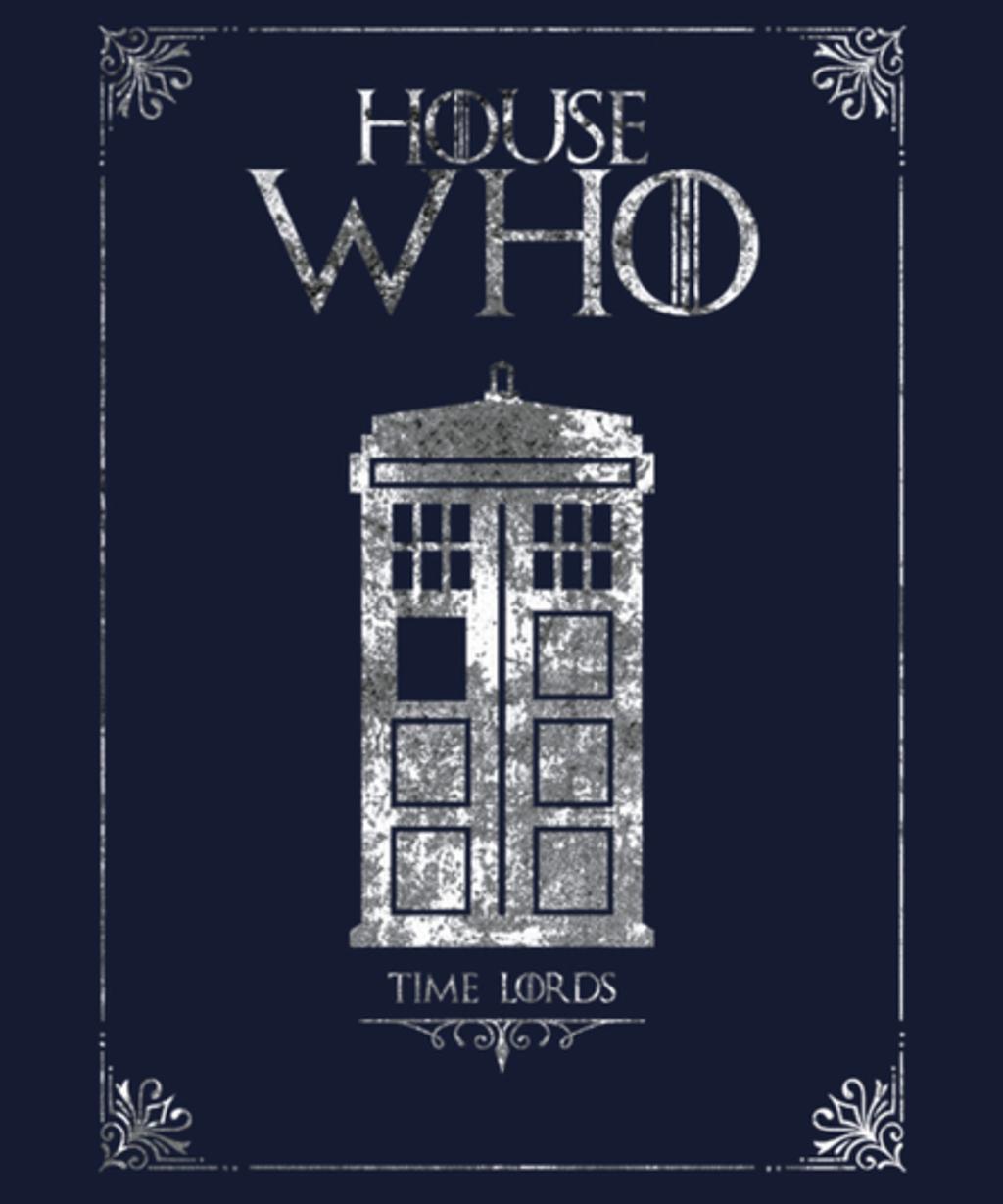 Qwertee: House Who