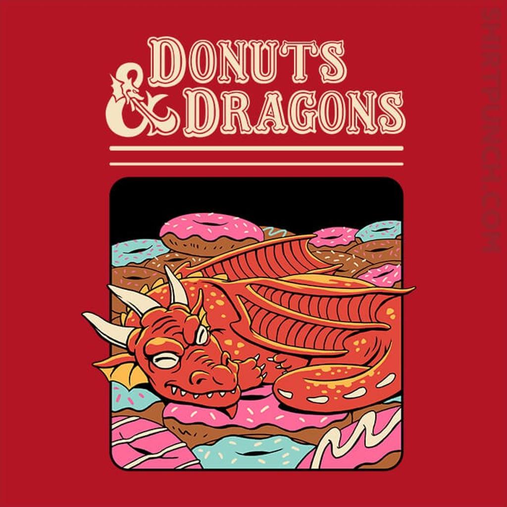 ShirtPunch: Donuts And Dragons