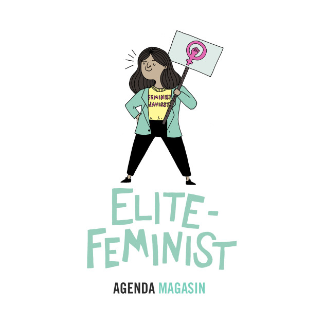 TeePublic: Elitefeminist T-Shirt
