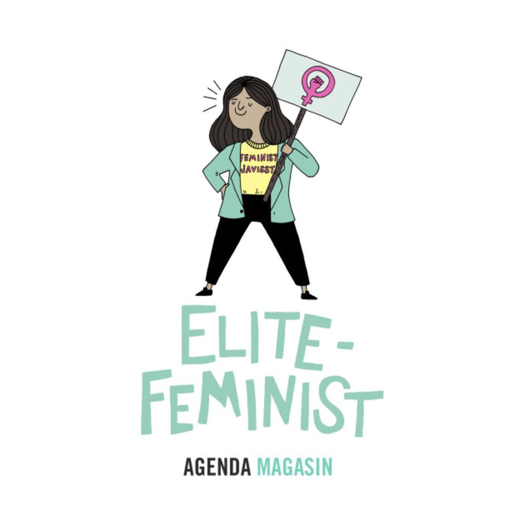 TeePublic: Elitefeminist T-Shirt