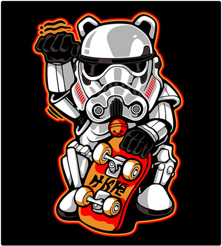 Shirt Battle: Maneki Trooper