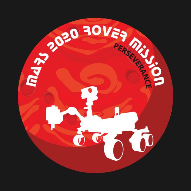 TeePublic: Mars Rover