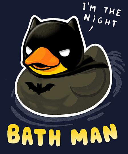 Qwertee: Bath Man