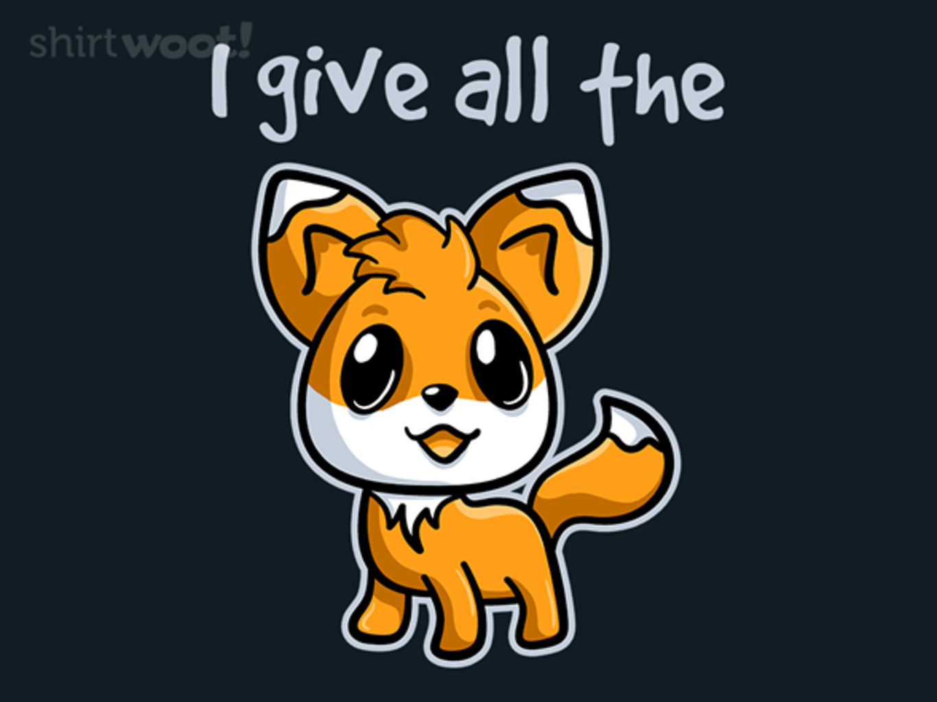 Woot!: All The Fox - $15.00 + Free shipping
