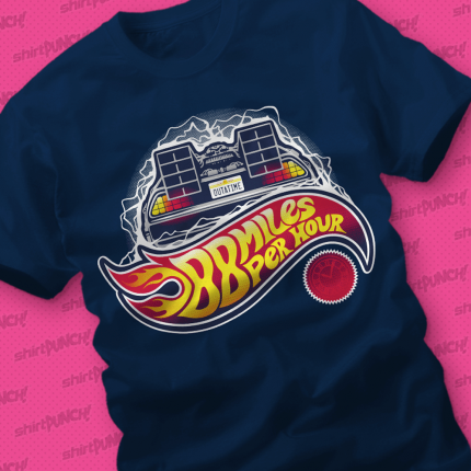 ShirtPunch: Hot Wheels to the Future