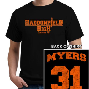 Five Finger Tees: Haddonfield High School T-Shirt