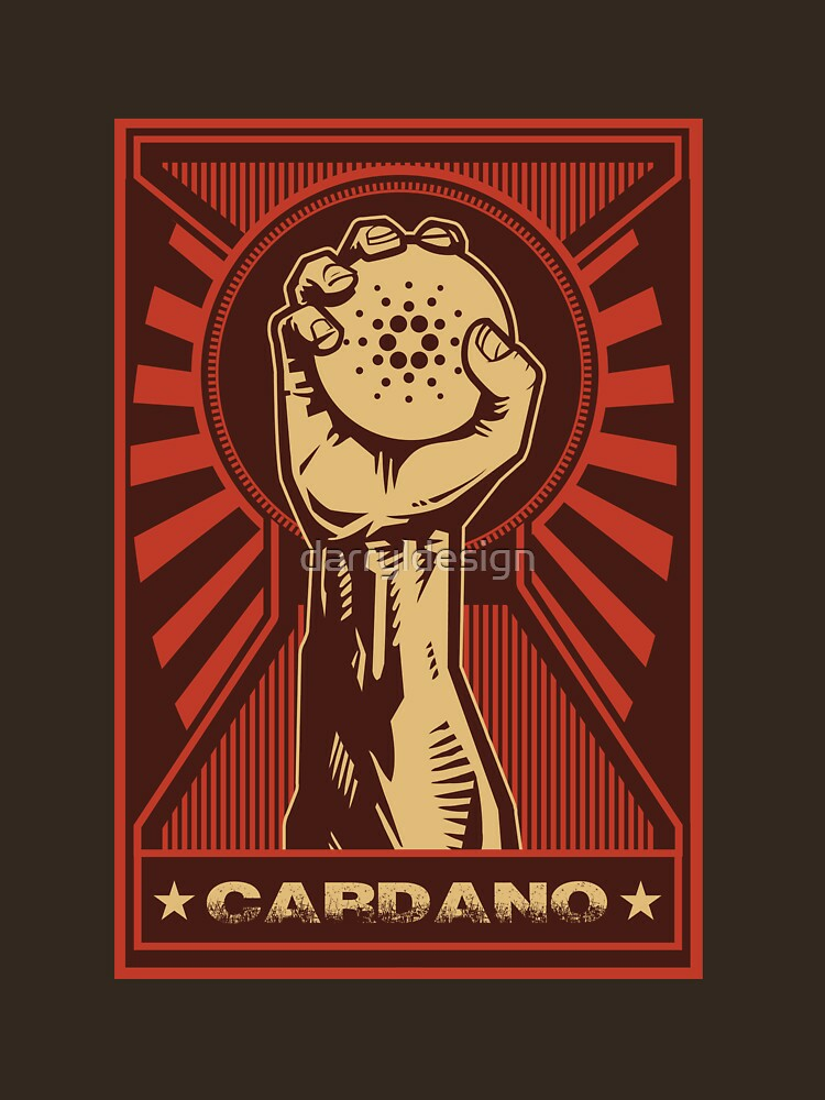 RedBubble: Cardano Coin: Triumphant Fist