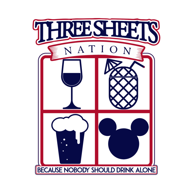 TeePublic: Nobody Drinks Alone