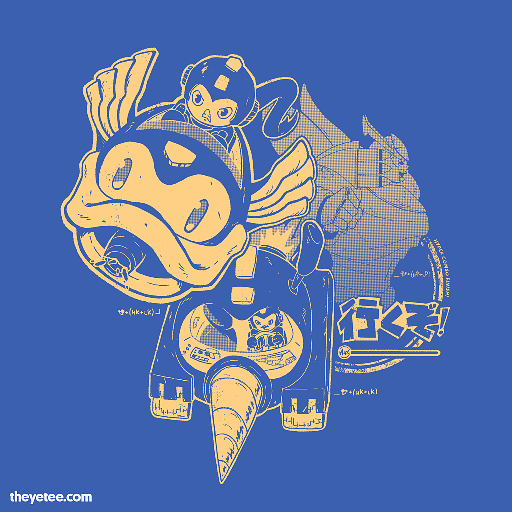 The Yetee: Hyper Combo Finish!