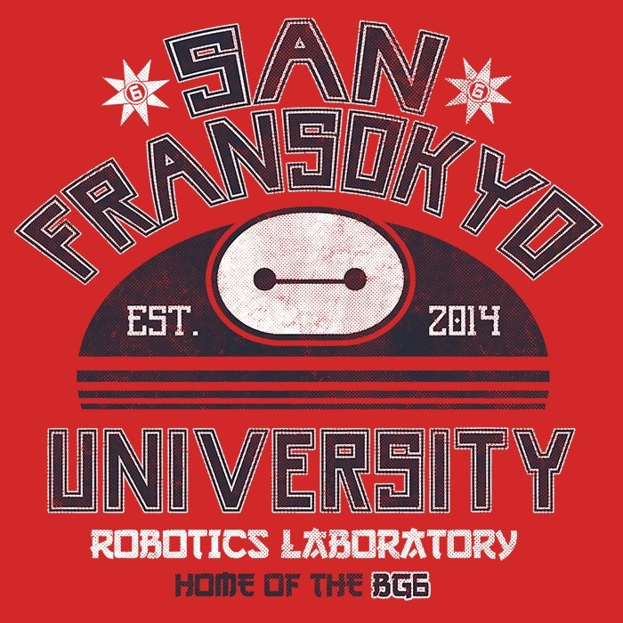 We Heart Geeks: San Fransokyo University