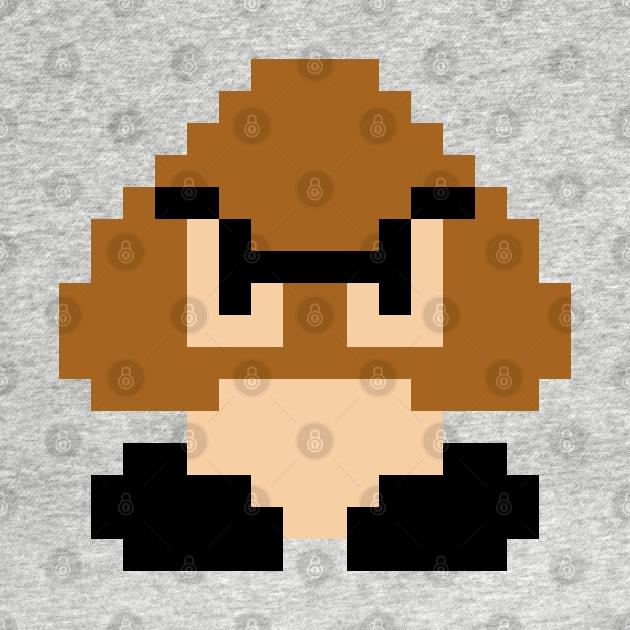 TeePublic: 8-Bit Goomba