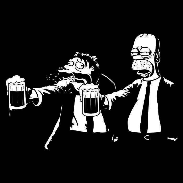 Once Upon a Tee: Pulp Simpson