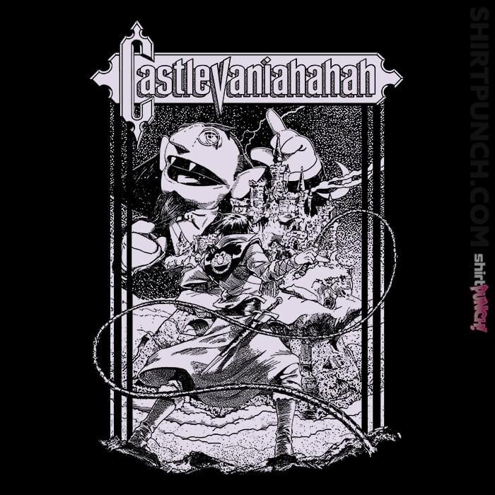 ShirtPunch: Castlevaniahahah