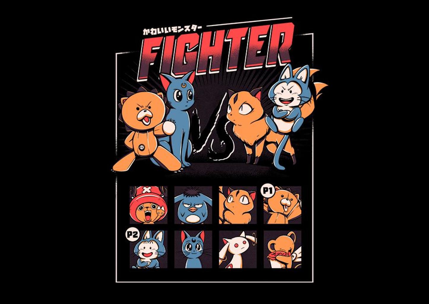 TeeFury: Anime Fight
