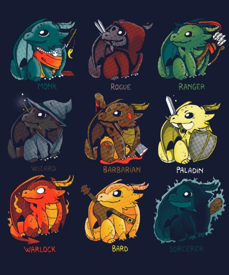 Qwertee: Dragon Role Play