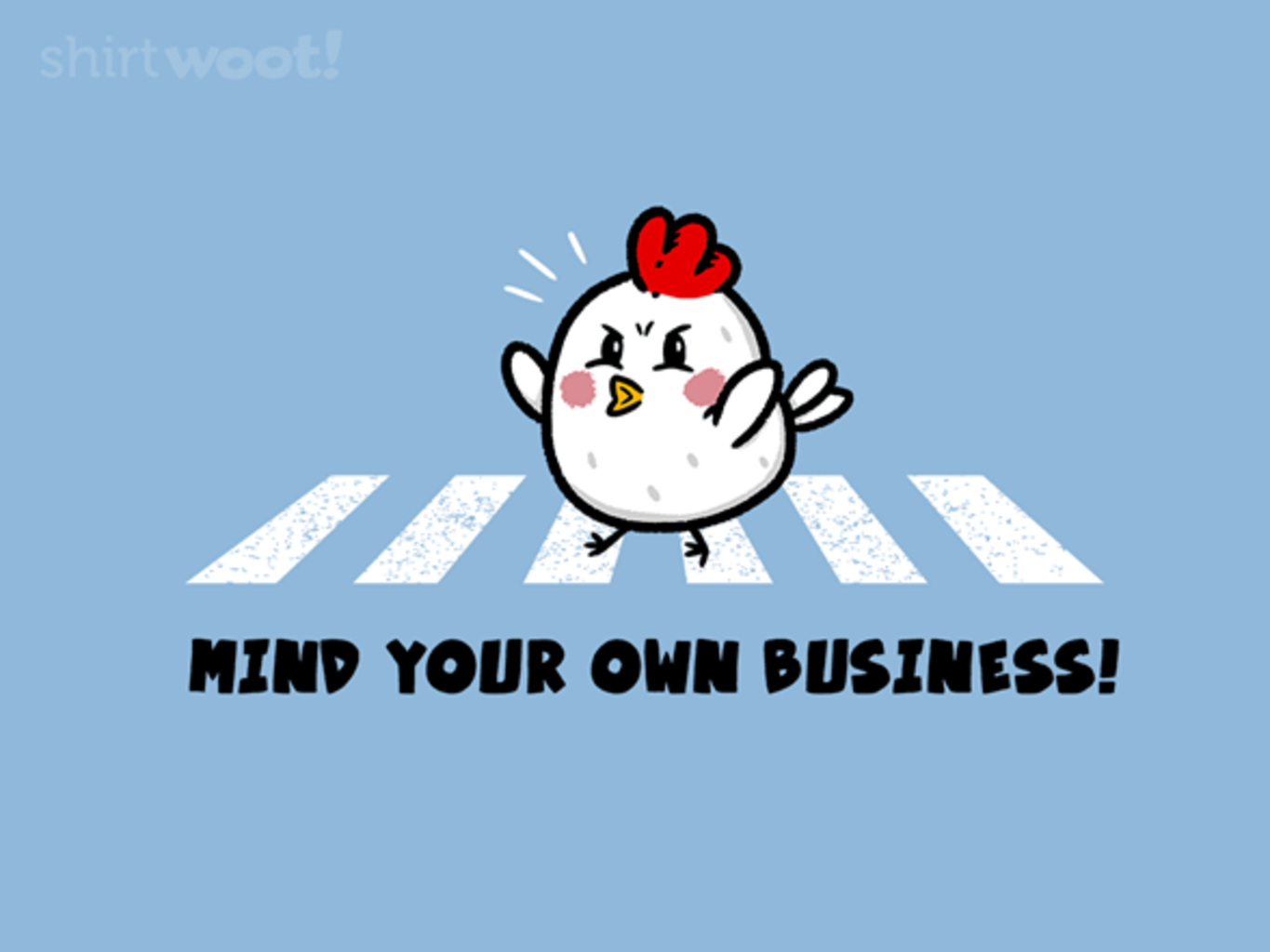 Woot!: Why Did the Chicken...