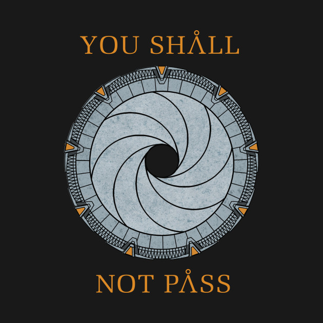 TeePublic: You Shall Not Pass