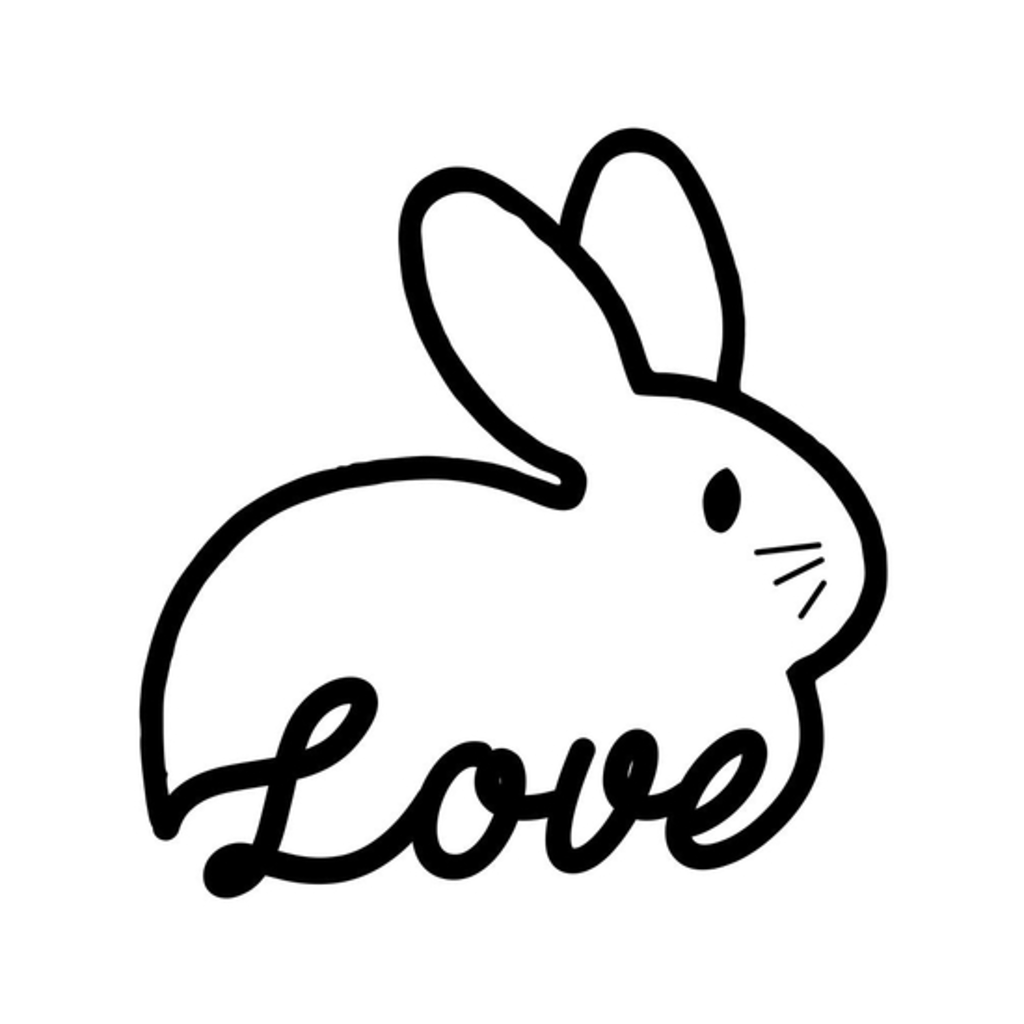 BustedTees: Love Bunny