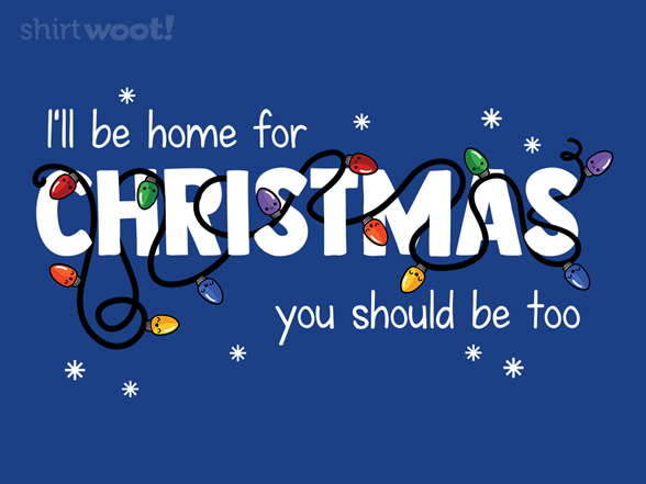 Woot!: Stay Home for Christmas