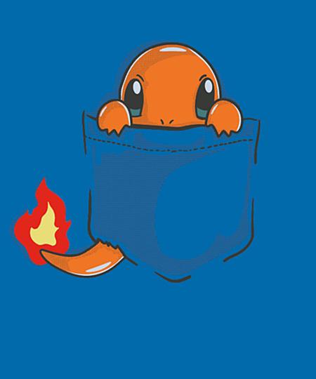Qwertee: pocket fire