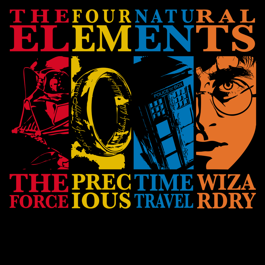 Pop-Up Tee: Four Elements