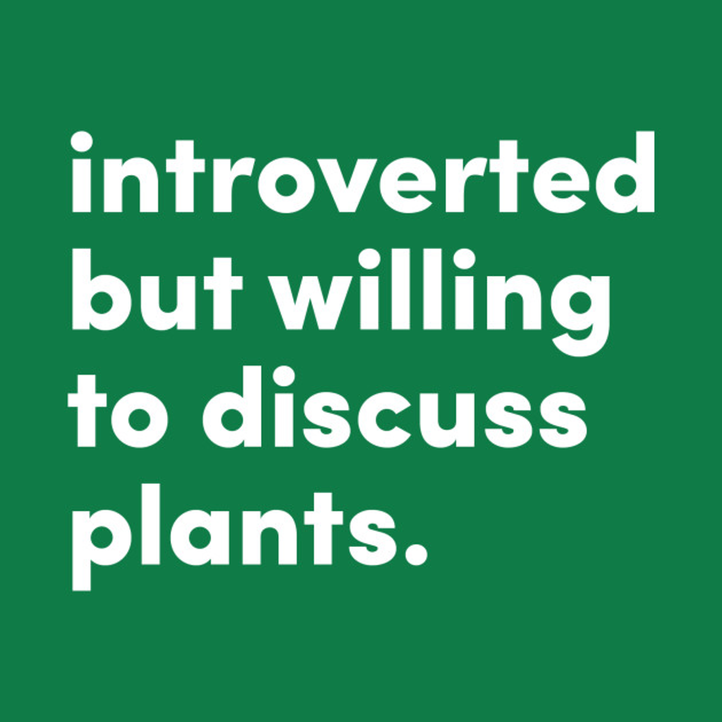 TeePublic: Introverted