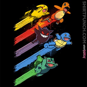 ShirtPunch: Pokesquad