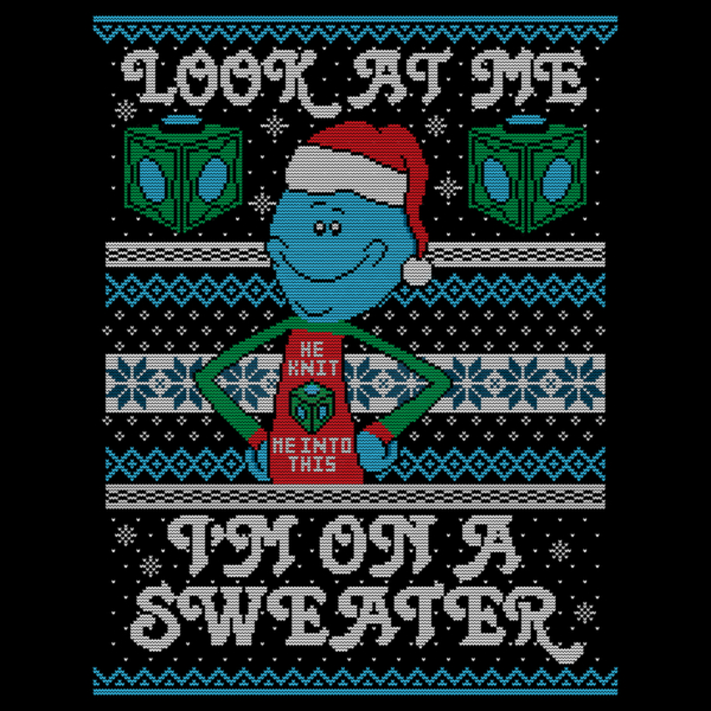 NeatoShop: LOOK AT MY SWEATER!!!!