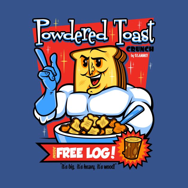 TeePublic: Powdered Toast Crunch Man