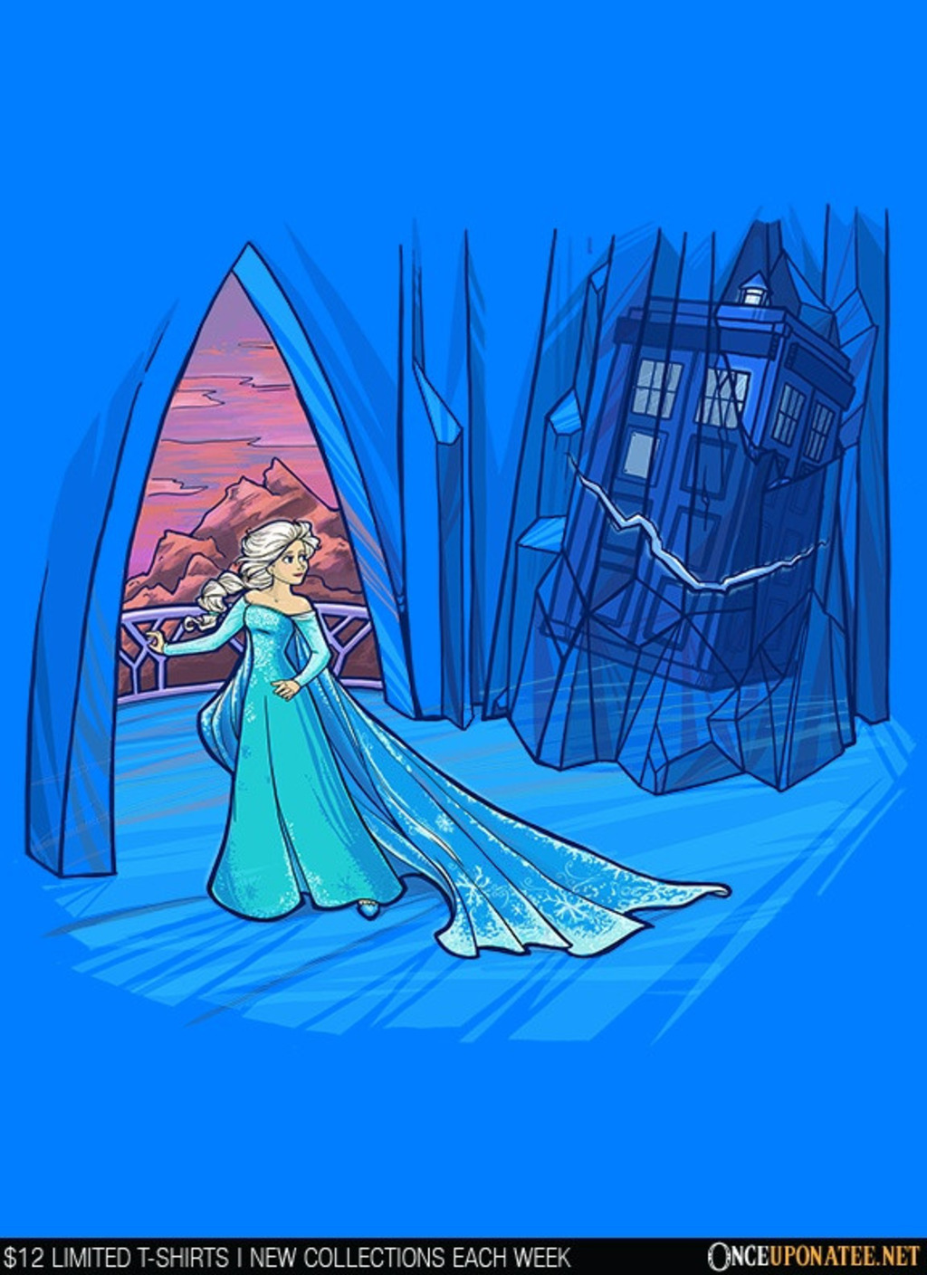 Once Upon a Tee: Frozen in Space and Time